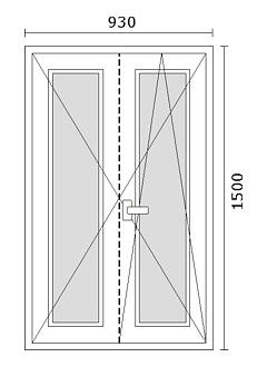Listino prezzi serramenti in alluminio e pvc infissi for Finestra rinascimentale disegno