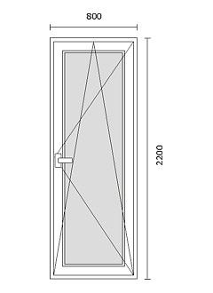 Listino prezzi serramenti in alluminio e pvc infissi for Porta finestra dimensioni