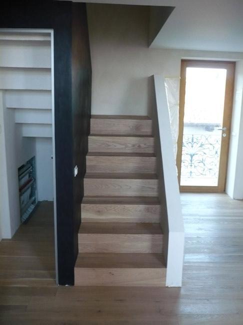 Pavimenti parquet varese como vivi casa i nostri lavori - Come arredare una scala interna ...