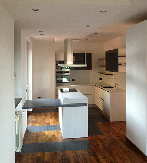 Pavimenti parquet varese como vivi casa i nostri lavori - Parquet in bagno e cucina ...